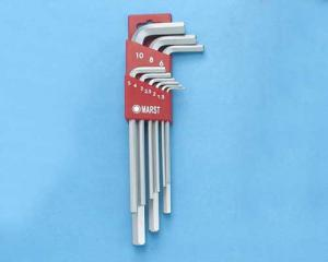 L形長六角扳手(Long Hex Key Wrench Set)